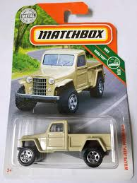 100 Willys Truck Parts Amazoncom Matchbox 2018 MBX Road Trip 3435 Jeep Pickup