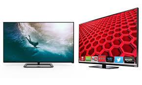 50 vizio smart led 1080p or 4k tvs manufacturer refurbished