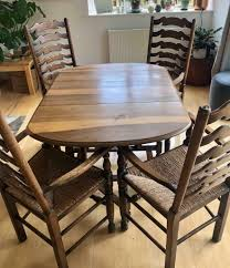 Antique Oak Dining Table And Chairs | In Kingsbridge, Devon | Gumtree Vfuhrerisch Antique Ding Room Table Seats 12 Style Rustic Ladder Back Chairs With Factory Distressed Finish Oak Ding Table And Chairs In Kingsbridge Devon Gumtree Rushseated Kitchen 4 French Rush Shells Tall Stretchers Attractive Set Of 6 Six Vintage Turned Oak Seat Pad Kitchen Forfar Angus 2m Farmhouse 8 Rustic Mk18 Vale Counter Wback Wood Height Countertops Woven Spanish Round Claw Foot Or W4 Leaf Elm 5 Carved Chair Shell Cabriole
