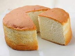 Healthy Dessert Vanilla Sponge Cake Without Butter and Eggs