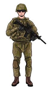 Soldier Image Clipart 45