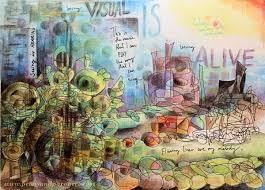 Art Journaling With Cretacolor Aqua Monolith Colored Pencils
