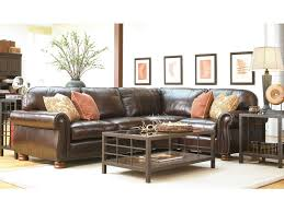 Thomasville Leather Sofa And Loveseat by Living Room Benjamin 3 Piece Leather Sectional