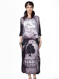 skull boho maxi dress