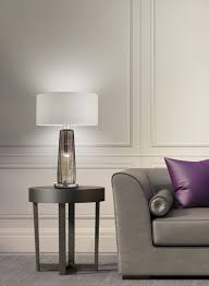 Crate And Barrel Cole Desk Lamp by Perle Table Lamp Glass Table Lamps Glass Table And Lights
