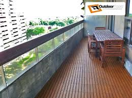 Condo Balcony Flooring Ideas Waterproof Floor Outdoor Options Outdo
