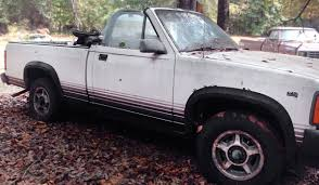 Rugged Ragtop: 1989 Dodge Dakota Convertible