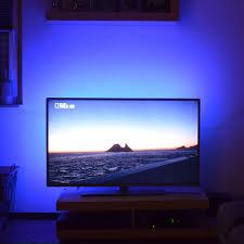 usb led stripe zur tv hintergrundbeleuchtung
