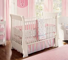 Nursery Crib Bedding Sets U003e by Baby Crib Sheets Pink And Grey Floral Bumperless Crib Bedding