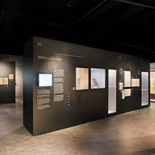 Contemporary Display Case Glass Wooden Museum