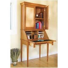 Drop Front Writing Desk by Woodworking Project Paper Plan To Build Drop Front Writing Desk
