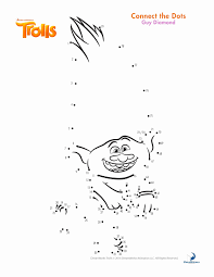 Trolls Princess Poppy Coloring Page Coloriage Les Trolls Poppy