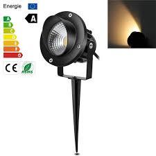 10W COB LED Garden Spike Lights with Plug Waterproof IP65 LED