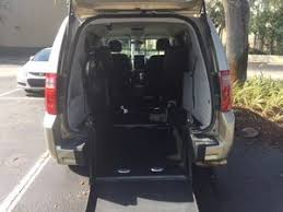 Used Wheelchair Van For Sale 2010 Dodge Grand Caravan SE Accessible
