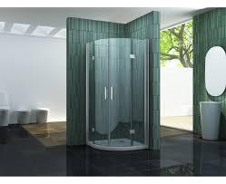 faltbare duschkabine ply 90 x 90 x 195 cm viertelkreis
