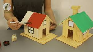 100 Home Design Project How To Make Popsicle Stick House For Hamsters DIY