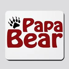 Papa Bear Claw Mousepad