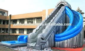 Inflatable Pool Slides Pool Slides For Pools Inflatable Pools With