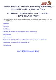 Hotresumes.com - Free Resume Posting Black Friday By Vert ... Free Resume Theme Newsbbc Free Resume Search Engines Usa Finance Analyst Seven Things You Didnt Know About Information Ideas Carebuilder Templates Examples Dance Template Best Of Sites Finder Indeed Philippines Datainfo Info Database Curriculum Vitae The Reasons Why We Love Realty Executives Mi Invoice And Inspirational Rumes For India Atclgrain Naukri Usajobs Gov Builder