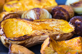 Japanese Pumpkin Recipe Roasted by Roasted Pumpkin And Sweet Potato Soup Grab Your Spork