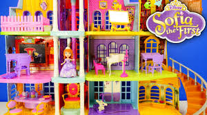Disney Bathroom Set India by New Disney Princess Giant Doll House Sofia The First Magical Royal