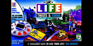 Game Of Life Twists Turns Board Instructions Manual