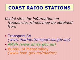 dim up au bureau marine radio operators certificate of proficiency ppt