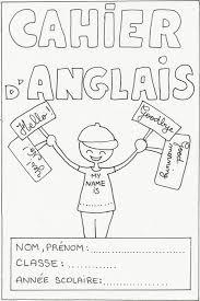 Evaluation Anglais Cm2 A Imprimer Nouveau Pages De Garde Du Cahier D