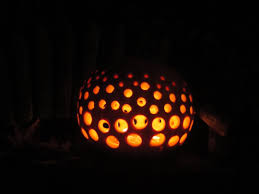 Pumpkin Carving Drill Holes by Halloween Bliss House Happiness