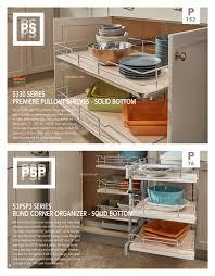 Blind Corner Base Cabinet For Sink by Rev A Shelf Catalog