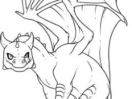Dragon Coloring Pages How To Draw Baby Step