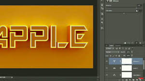 Animating 3D Text In Photoshop