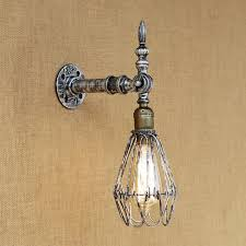 vintage wall light europe industrial wall sconce edison bulb wall