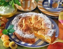 aprikosen mandel marzipan kuchen