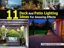 11 Deck And Patio Lighting Ideas For Amazing Effects