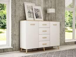 sideboard alta wohnzimmer schlafzimmer kommode sideboard beistellschrank skandinavisch weiß sonoma 150 cm