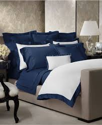 Macys Bed Frames by Reduced Ralph Lauren Langdon Border Bedding Collection 624