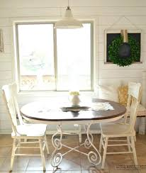 Painted Kitchen Tables How To Paint A Laminate Kitchen Table From