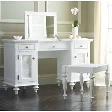 Bathroom Vanities With Dressing Table by British Cane Vanity Dressing Table And Bath Stool In White