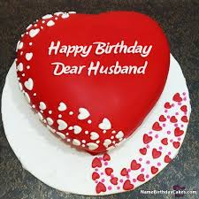 Searching for romantic birthday wishes for your lover Here we have romantic birthday image of cake with name Unique way to celebrate his& birthday