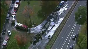 Tractor-trailer Carrying Butter Crashes On Merritt Parkway In ... Traffic Tctortrailer Crash On Parkway East Tbound Cleared A Large White Truck A Parking Lot Of Rest Area Garden Cops Toilet Paper Hits Northern State Overpass Forest Park Georgia Clayton County Restaurant Attorney Bank Dr Luke Bryan Trailer Hits Wantagh Overpass Youtube Plant Sales Twitter Takeuchi Tb2150 Arrives For Semi Gets Pulled From Underpass Truck Carrying Hallmark Cards King Street In Rye Brook Update Details Released Hal Rogers Man Killed Merritt When He Collides With Over Great Egg Harbor Bay Project By Wagman Iron And Metal Home Facebook
