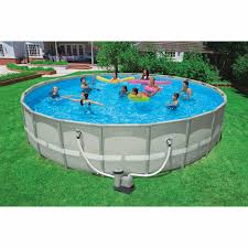 Intex 22 Ft X 39ft 52 Inch Ultra Frame Swimming Pools For Sale At Walmart