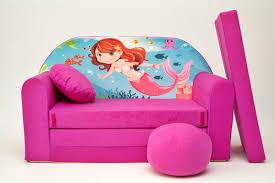 Kids Flip Open Sofa by Delighful Chair Beds For Kids Girls Pink Armchair Children Velvet