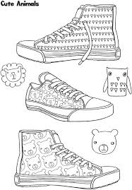From Amazon Sneaker Designs Coloring Book