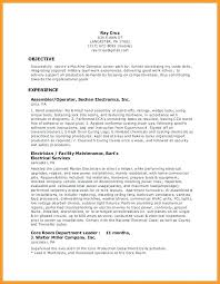 Resume Sample For Manufacturing Operator Together With Best Of Production Prepare Cool