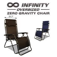 infinity os zero gravity chair caravan sports