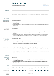 Investment Banking - Resume Samples And Templates   VisualCV Analyst Resume Example Best Financial Examples Operations Compliance Good System Sample Cover Letter For Director Of Finance New Senior Complete Guide 20 Disnctive Documents Project Samples Velvet Jobs Mplates 2019 Free Download Accounting Unique Builder Rumes 910 Financial Analyst Rumes Examples Italcultcairocom