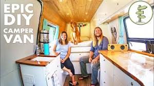 100 House Van Life Couple Sold Their To Live In A DIY Camper