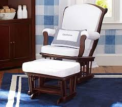 Gently used Pottery Barn Sleigh Glider & Ottoman Gliders Rockers