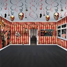 Scene Setters Halloween Uk by Halloween Horror Creepy Carnival Circus Party Scene Room